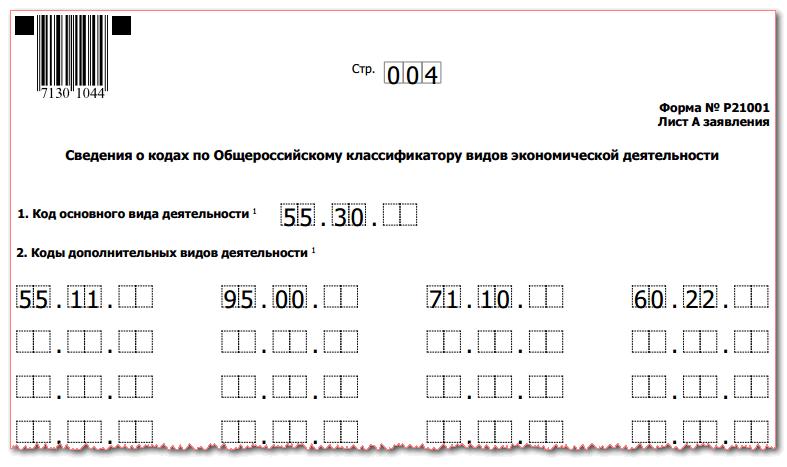 ФОРМА Р21001 СКАЧАТЬ БЕСПЛАТНО