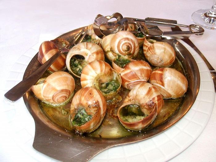 Блюдо улиток